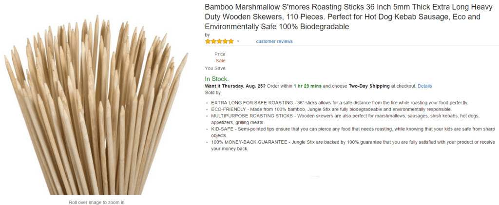 Roasting-Sticks