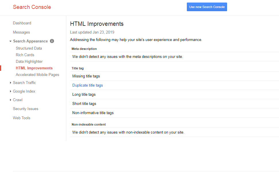 HTML-Improvements