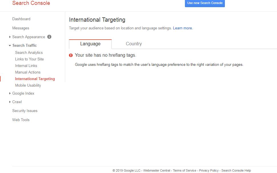 International-Targeting